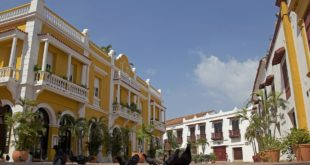 Koloniale Architektur in Cartagena, Kolumbien